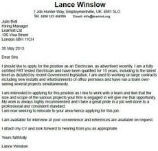 Brilliant Ideas Of Electrical Technician Cover Letter Electrician