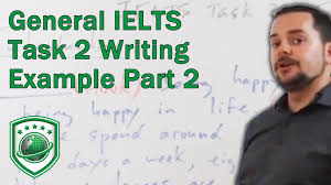 Must to Do Thing in IELTS Writing Task     International English     YouTube ielts essay writing task   part ii