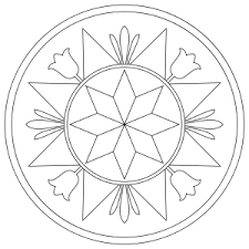 Small Picture Pennsylvania Hex Sign With Compass Rose Free Coloring Page Art