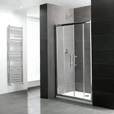 showers double sliding door shower enclosure silver at bathroom showers vs rain or