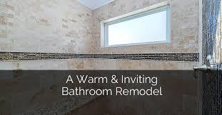 Bathroom Remodeling Naperville Adorable A Warm Inviting Bathroom Remodel Home Remodeling Contractors