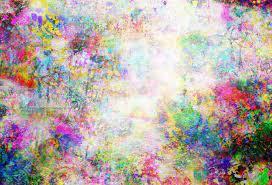 Colorful Grunge Art Wall Illustration ...