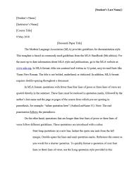 Mla Format 2019 Mla Essay Format 2018 Writing Is Easy