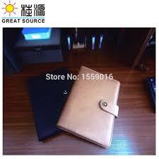 ซ อท ไหน great source a5 padfolio leather notepad folder ring binder file for planner