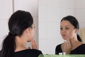 image led apply makeup according to your face shape step 3