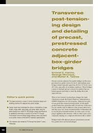 Pci Bridge Design Manual Pdf Pdf Transverse Post Tensioning Design And Detailing Of