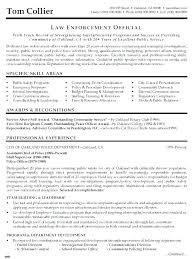 Resume For Police Officer Police Resume Sample Sample Police Officer Resume Police Officer
