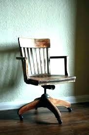 vintage office chair for sale. Unique Vintage Wooden Desk Chair Wood Office Old For Sale