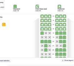 321 Seating Chart A321 Seat Map Economy Row 11 Flyertalk Forums