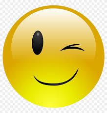 Wink Smiley Emoji Emoticon Clip Art Winking Smiley Face Free