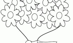 Disegni Di Fiori Da Colorare Dt54 Pineglen Con Vaso Fiori Disegno E