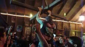 drunk chandelier swinging
