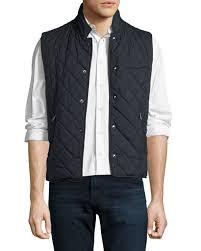 Ralph Lauren Diamond-Quilted Vest, Navy &  Adamdwight.com