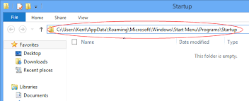 Where Is The Startup Folder In Windows 8 And How To Easily Access To