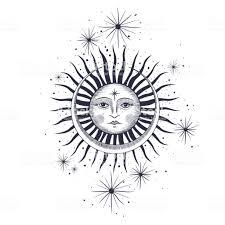 太陽月星フリーメーソンのタトゥーt シャツ錬金術akultism中世の宗教