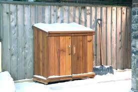 outside garbage cans full size of large trash home depot can shed outdoor bin storage ideas