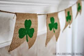 st pattys day home office decor. Chic On A Shoestring Decorating Easy St Patrick 39 S Day Decor Pattys Home Office