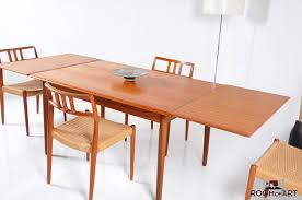 minimalist dining room scandinavian teak dining room furniture inside remarkable mid century round dining tables intended