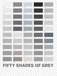 50 Shades Of Gray Color Chart Inspirational Shades Of Gray Tints And Shades Color Chart