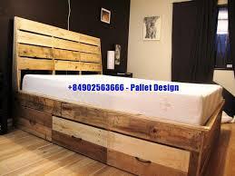 wooden pallets furniture ideas. DIY Queen Size Wood Pallet Headboard Ideas Wooden Pallets Furniture