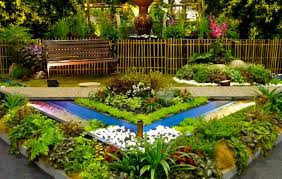 Small Picture Emejing Flower Garden Design Ideas Pictures Interior Design
