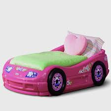 toddlers bedroom furniture. Very Cute Pink Convertible Car Beds For Girls Toddlers Bedroom Furniture Ideas