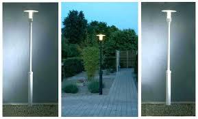 outdoor lighting lamp post light new lights posts pole modern garden solar full size