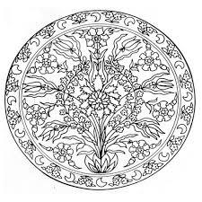 25 Bladeren Pasen Mandala Kleurplaat Mandala Kleurplaat Voor Kinderen