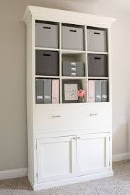 diy office furniture storage cabinet bookcase do it yourself home diy office storage ideas18 office