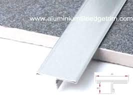 floor tile trim t shaped stainless steel edging installation edge and decor to wood chrome