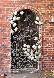 wall arts gate wall art photos metal ideas top best iron design on wrought within window