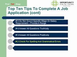 Job Applications Top Ten Tips Youtube