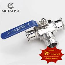 METALIST Pipe OD 19/25/32/38MM <b>SS304 Stainless Steel Sanitary</b> ...