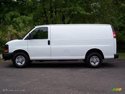 Summit White 2008 Chevrolet Express 2500 Commercial Van Exterior ...