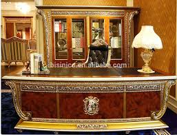 desk parawood country french computerwriting desk french rococo office furniture solid wood gold leaf office