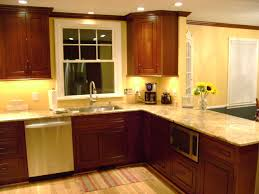 Simple Painting Cherry Kitchen Cabinets White Paint Colors Wood Intended Inspiration
