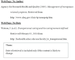 Essay Reference Page Example Example Apa Reference Page Format
