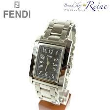 brandshop reine rakuten global market fendi fendi square qz fendi fendi square qz watches ladies mens 7600m