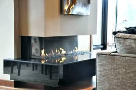 berkeley infrared electric fireplace tv stand w glass in spanish gray 3 sided double insert ideas