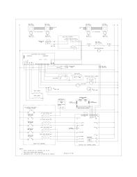 glefm397dsb electric range wiring schematic parts diagram