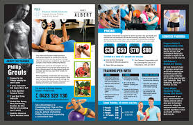 Corporate Personal Training Business Needs A Flyer For High