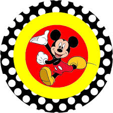 Mickey Mouse Party Printables Free Inspired In Mickey Mouse Free Party Printables In Red And Black