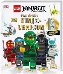 Buchspielbox Lego NINJAGO Das große Ninja-Lexikon: Mit exklusiver Minifigur  + Ninja Sticker, Nachschlagewerk ab 6 Jahren: Amazon.de: Spielzeug