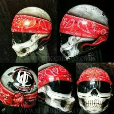 skull motorcycle helmets warning not all skulls are created