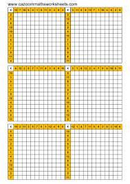 76 Accurate Maths Time Table