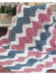 Crochet Afghans - Crochet Baby Blanket Patterns - Babies Quick ... & Baby's Quick Ripple Crochet Afghan Pattern Adamdwight.com