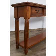 georgian narrow console table mahogany
