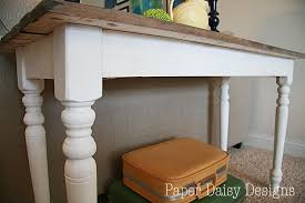 Build a Rustic Sofa Table Make New Wood Look Old DeeplySouthernHome