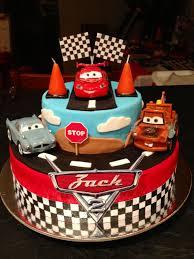 Disney Cars Birthday Cake Disney Cars Cake Made Me Verjaardag Koeke
