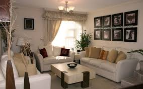 Decorations:Impressive Small Living Room Design With White Leather Sofa And  Rectangle Coffee Table Decor
